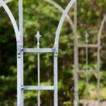 Gartenpavillon Florenz, Detailansicht Spitze, feuerverzinkt