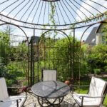 Gartenpavillon Milano mit Rankgitter Edera (durch Kunden hinzugefügt)